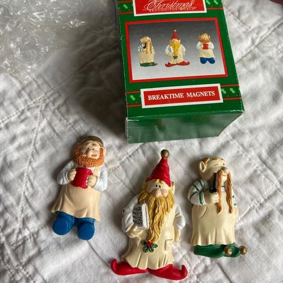 House of Lloyd breaktime magnets elfs NIB